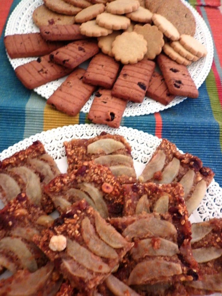 tarta avena galletas